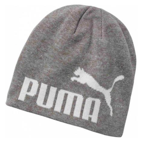 Puma ESS BIG CAT BEANIE JNR gray - Children's winter hat
