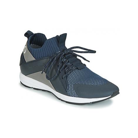 HUGO HYBRID RUNN KNBC men's Shoes (Trainers) in Blue Hugo Boss