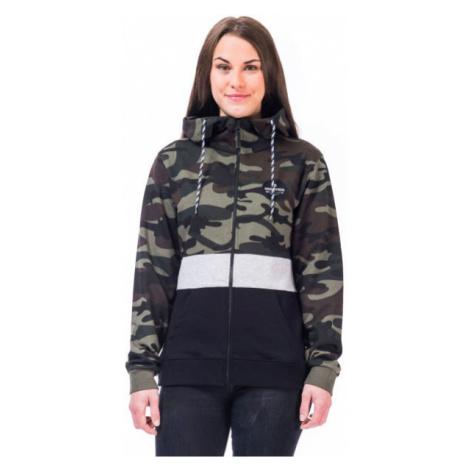 Horsefeathers ELIZA SWEATSHIRT dark green - Women's sweatshirt