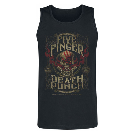 Five Finger Death Punch 100 Proof Tanktop black