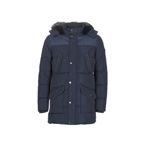 Guess WINTER PUFFA men's Parka in Blue