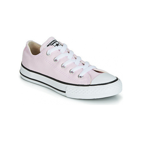 Converse CHUCK TAYLOR ALL STAR SEASONAL OX girls's Children's Shoes (Trainers) in Pink