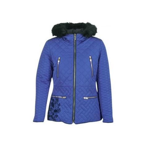 Desigual GIORDU women's Jacket in Blue