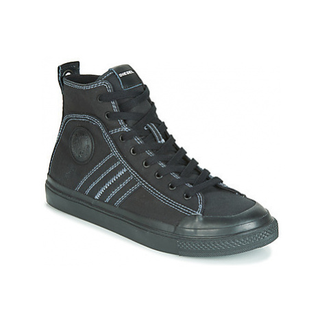 Diesel S-ASTICO MID LACE men's Shoes (High-top Trainers) in Black