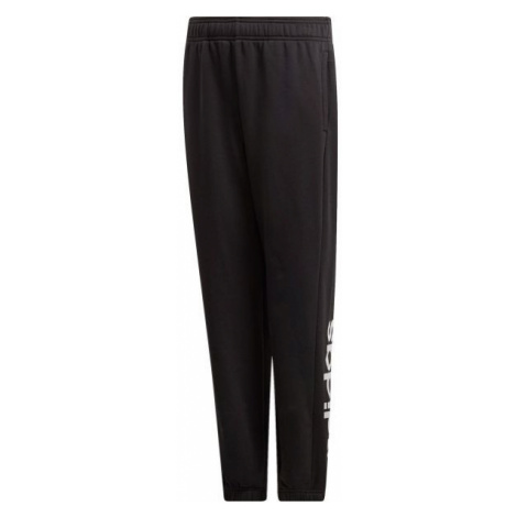 adidas YB E LIN PT black - Boys' sweatpants