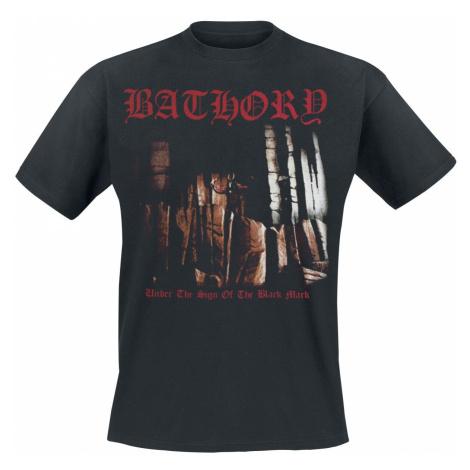 Bathory Under the sign T-Shirt black