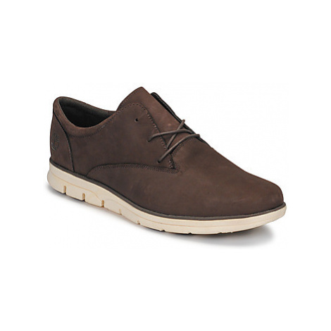 Timberland BRADSTREET PT OXFORD men's Shoes (Trainers) in Brown