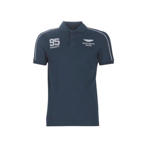 Hackett HM562484-597 men's Polo shirt in Blue