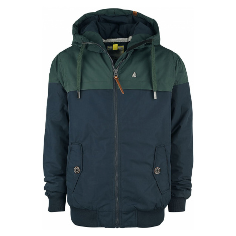Alife and Kickin Mr DiamondAK Winter Jacket dark green