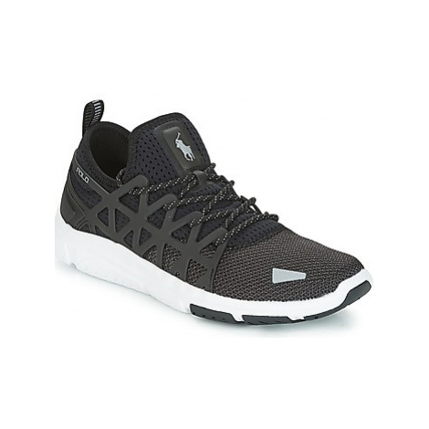 Polo Ralph Lauren TRAIN 200 women's Shoes (Trainers) in Black