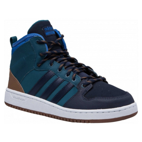 adidas CF HOOPS MID WTR blue - Men's leisure shoes