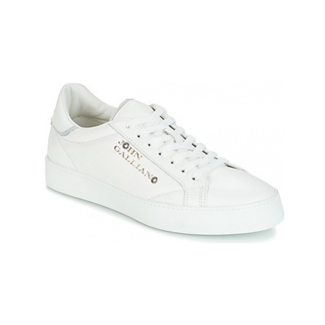 John Galliano FIUR men's Shoes (Trainers) in White