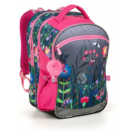 backpack Topgal COCO 19002 - G/Gray - girl´s