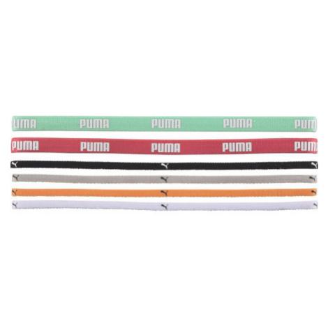 Puma AT Sportbands (6pcs) grey - Hair elastic set