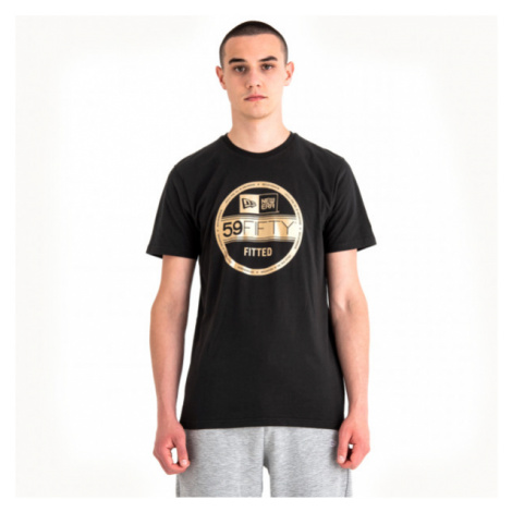 New Era NE VISOR STICKER TEE black - Men's T-shirt