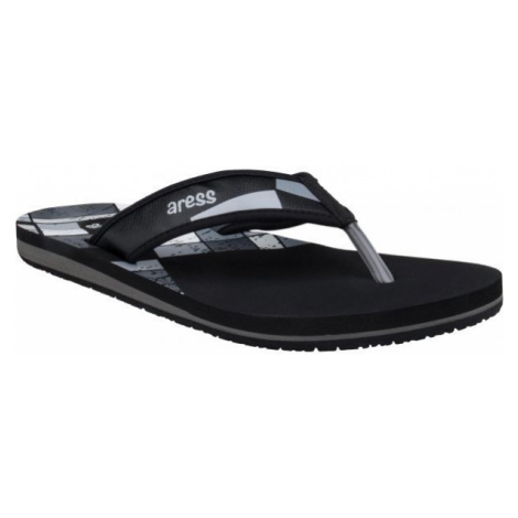 Aress UMAR black - Men's flip-flops