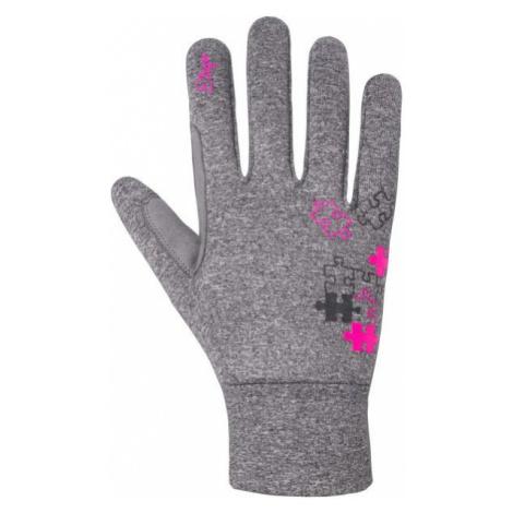 Etape PUZZLE WS gray - Children's gloves