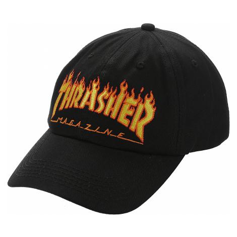 cap Thrasher Flame Old Timer - Black - men´s
