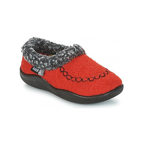 KAMIK COZYCABIN 2 girls's Children's Slippers in Red