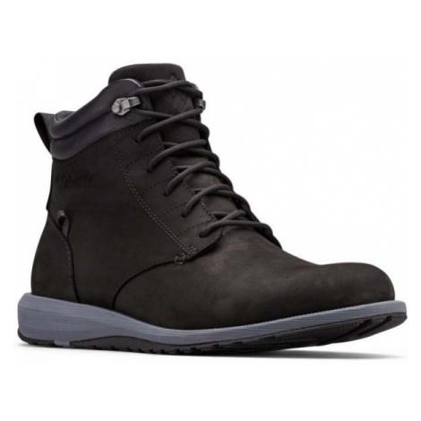 Columbia GRIXSEN BOOT WP black - Men's walking shoes