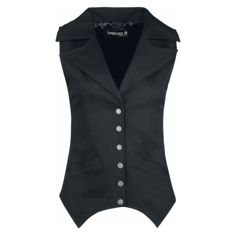 Gothicana by EMP - Piper - Girls Vest - black