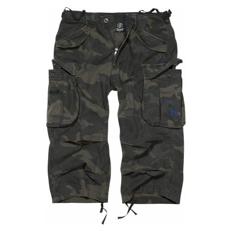 Brandit - Industry Vintage 3/4 - Vintage shorts - dark camo