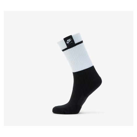 Nike Sneaker Sox 2 Pair - Nike Air 1978 Crew Socks White/ Black/ White
