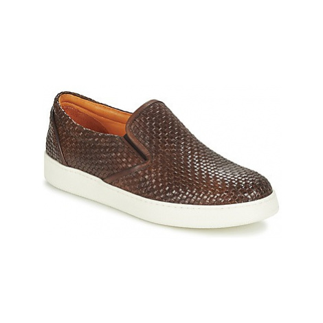 J Wilton - men's Slip-ons (Shoes) in Brown