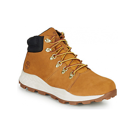 Timberland BROOKLYN HIKER men's Shoes (High-top Trainers) in Brown