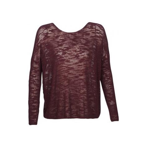 Sisley FANAN women's Sweater in Bordeaux