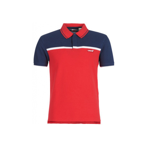 Levis SS MODERN HM POLO men's Polo shirt in Red Levi´s