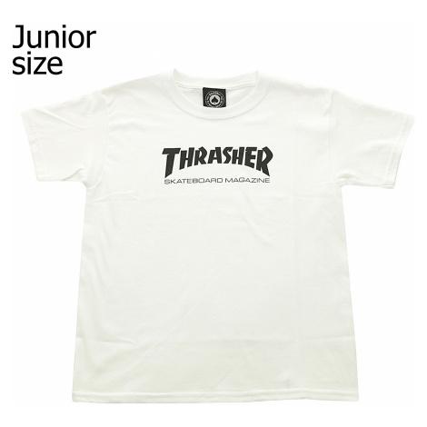 T-Shirt Thrasher Skate Mag - White