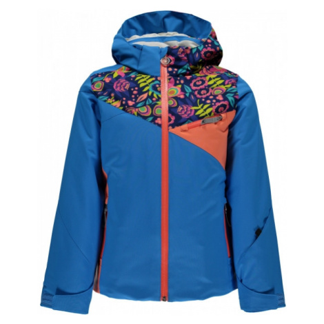 Spyder PROJECT G blue - Girls' skiing jacket