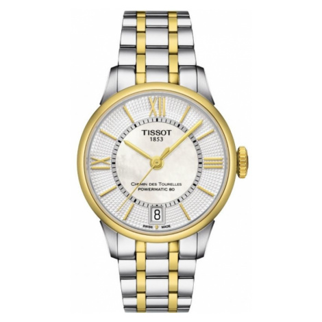 Ladies Tissot Chemin Des Tourelles Automatic Watch