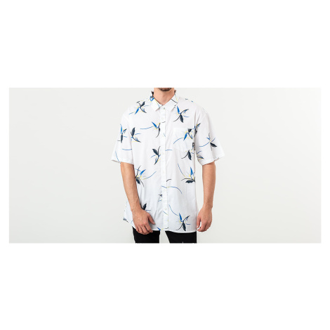 Vans Shade Shortsleeve Shirt White Open Shade Floral