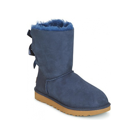 UGG BAILEY BOW II women's Mid Boots in Blue