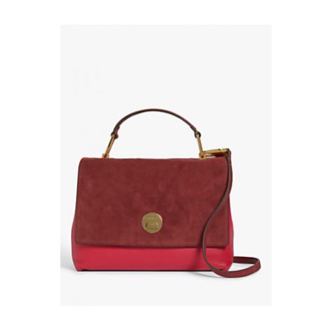 Coccinelle Liya Iconic Suede Shoulder Bag