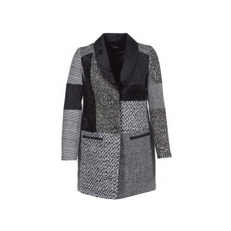 Desigual MERLON women's Coat in Grey