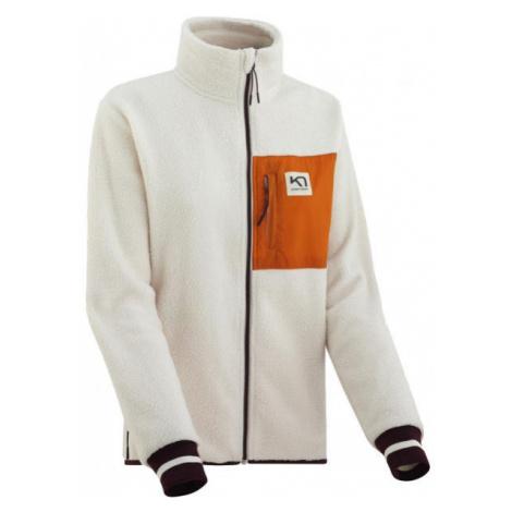KARI TRAA ROTHE MIDLAYER white - Women's sports hoodie