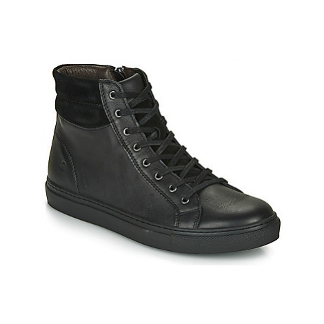 Casual Attitude LUCKY men's Shoes (High-top Trainers) in Black