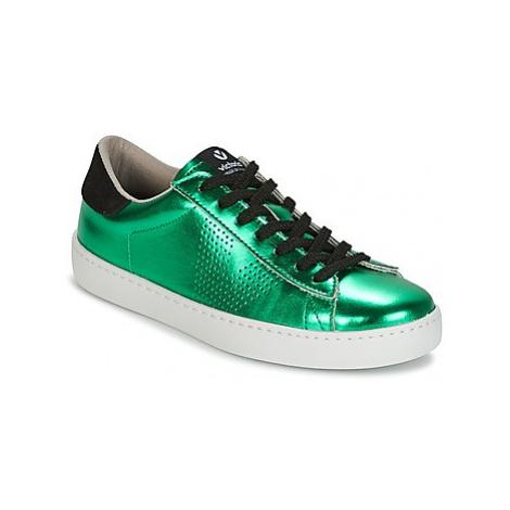 Victoria DEPORTIVO METALIZADO women's Shoes (Trainers) in Green