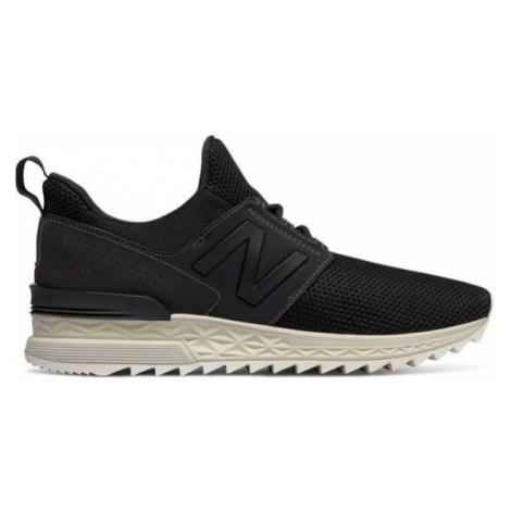 New Balance MS574DUK black - Men's leisure shoes