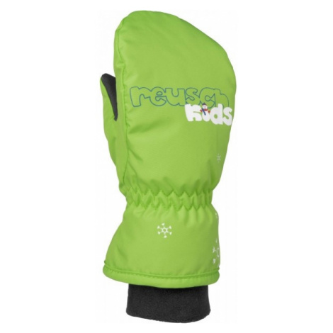 Reusch MITTEN KIDS green - Kids' ski gloves