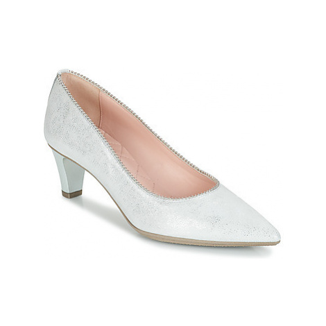 Hispanitas CRISTINA6 women's Court Shoes in Silver