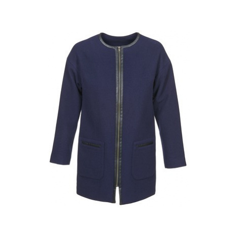 Naf Naf ALYSON women's Coat in Blue