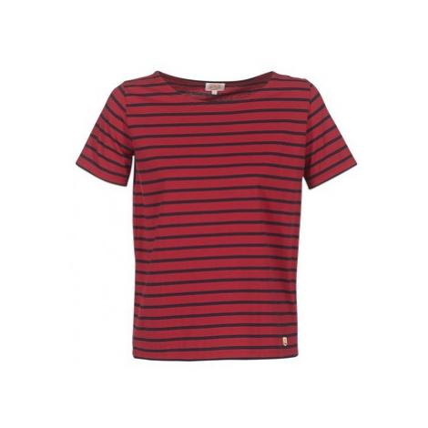 Armor Lux WADLOE women's T shirt in Red