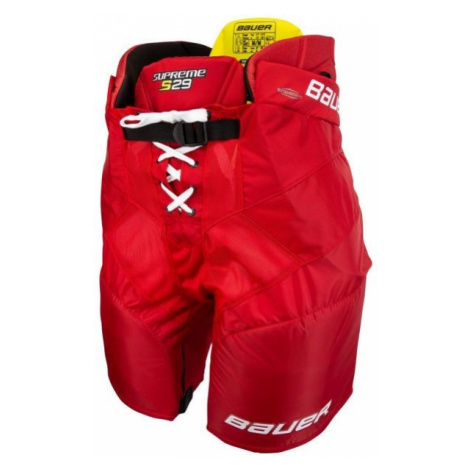 Bauer SUPREME S29 PANTS SR red - Ice hockey pants