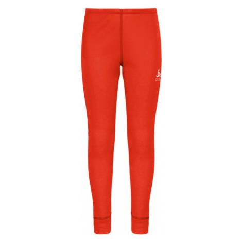 Odlo BL BOTTOM LONG ACTIVE WARM KIDS red - Children's pants