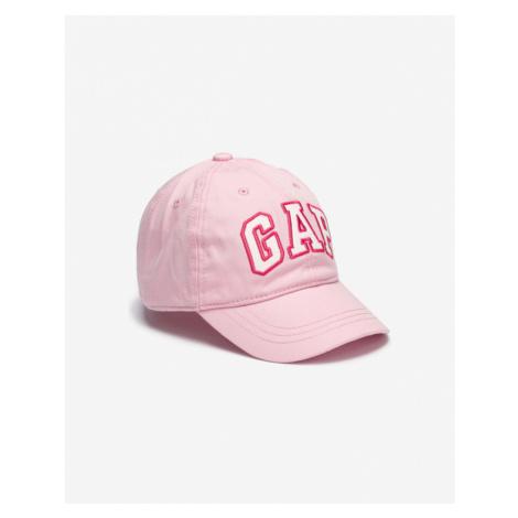 GAP Kids Baseball Cap Pink Beige