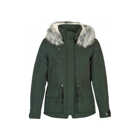 Only STARLIGHT women's Parka in Green